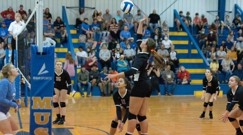 Walnut punches ticket to state championship with five set win over Mantachie for North Half title