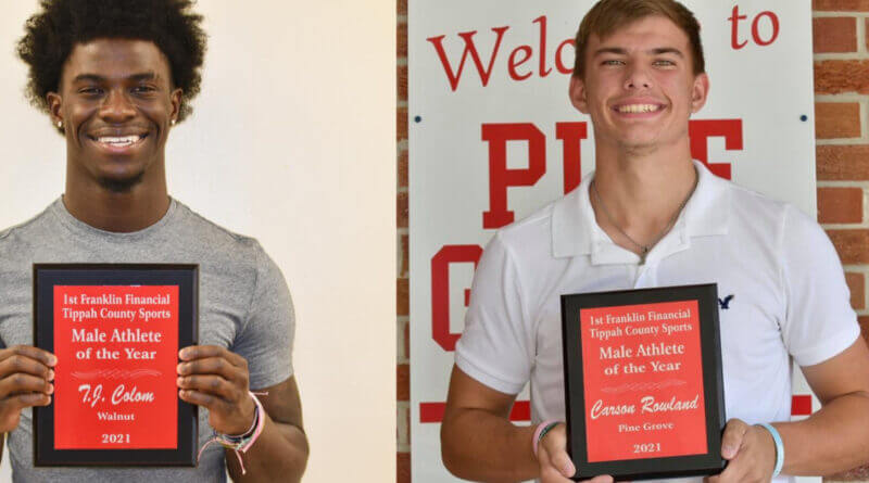 First Franklin Financial Tippah County Male Athletes of the Year: TJ Colom and Carson Rowland