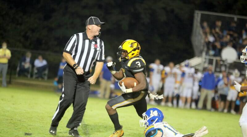 Tigers get trio of big plays to snap losing streak to Booneville